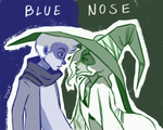 Blue Nose and Veronica by V-Inks