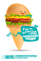 Hamburger-cream by x-m4n
