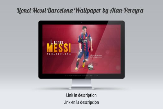 Lionel Messi Barcelona Wallpaper by Alan-Pereyra by Alan-Pereyra