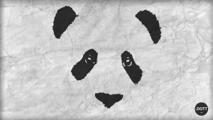 Panda background PANDA by Menqa-Art