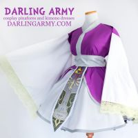 Zelda Twilight Princess Cosplay Kimono Dress by DarlingArmy