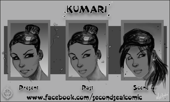 Mat Andre - Second Seal - Kumari Concepts 001 by MatAndre