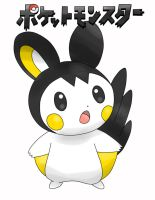 EMOLGA POKEMON by fakeshaman