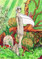 The Secret of Kells - Aisling by Dunjochka