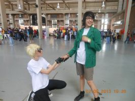 Dirk x Jake cosplay by Sarasacop