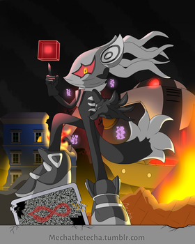 [Sonic forces] Infinite by Mechanized515