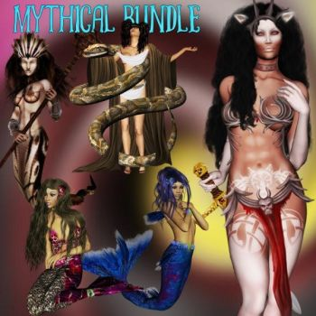 Mythical exclusive bundle, by Heavenlee by FantasiesRealmMarket