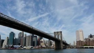 Bridge Right Over Brooklyn by sympatheic-darkness