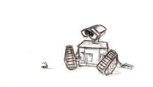 Wall-E by pixarjunkie