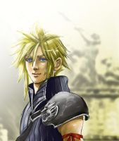 Cloud Strife by wildapple-jp