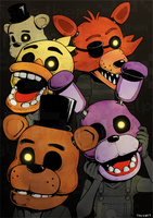 Five Nights at Freddy's by H0lyhandgrenade