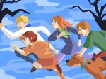 The Meddling Kids by hayate-hime
