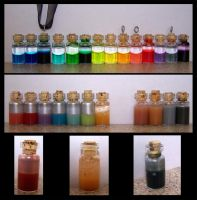 Lil' Potion Bottles by Jianre-M
