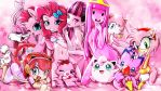 Pink Skin Girls by skyshek