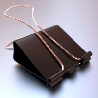 Binder Clip by Phr0sty