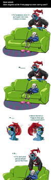 Undertale ask blog: Not everyone can do it by JimPAVLICA