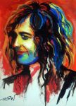 Jimmy Page The Maestro by vector10