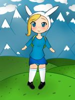 Fionna Adventure time by taskimosaki