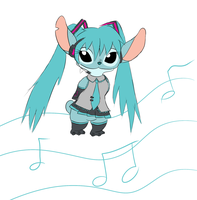 Experiment Hatsune Miku by KateyGoldenMoon