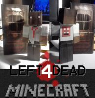 Left 4 Dead papercraft Louis by Notason89