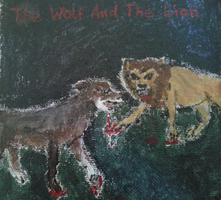 The Wolf And The Lion by SunriseCat