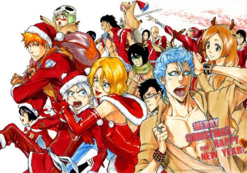 BLEACH: Merry Christmas by Sideburn004
