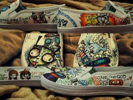 MY NEW SHOES THAT I MADE by SuperRibbonGirl