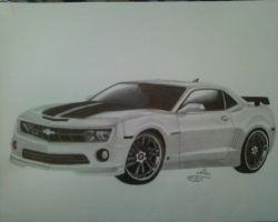 Chevrolet Camaro by GreeNissy