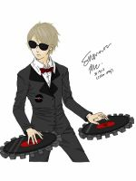 Dave Strider- Colored by me by Kanigye