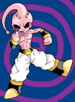 Kid Buu 1 by Lord-Bahamut