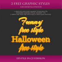 FREE Graphic Styles for Adobe Illustrator #17 by Love-Kay