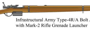 Type-4R/A Rifle with Mark-2 Rifle Grenade Launcher by Imperator-Zor
