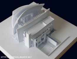 Jubilee Church model by artmik