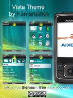 Windows Vista Theme for Nokia by Kamarashev