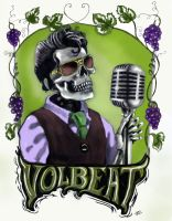Volbeat Poster by Jimstephenson72