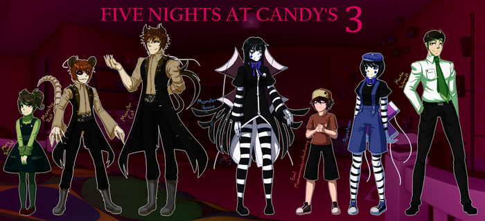 Five Nights at Candy's 3 Concept by Wolf-con-f