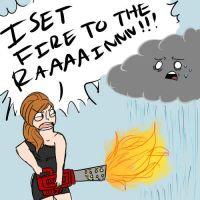 R1: SETTING FIRE TO THE RAAIN by dashyice