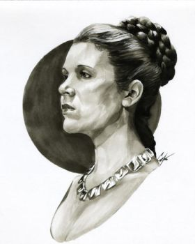 Princess Leia by gattadonna