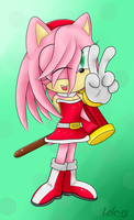 .:Gift:. Amy Rose by Lele-13