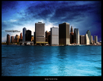 New York In Blue by MlOlivia
