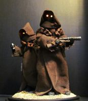 Jawas star wars Statues 1:4 by mycsculptures