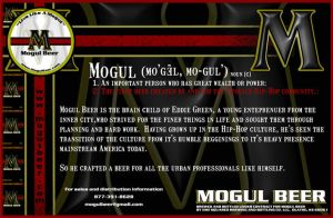 Mogul Beer postcard Back by SD-Designs