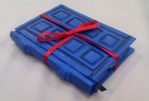 River Song Doctor Who Tardis Diary Journal by RavenMedia