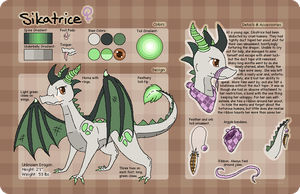 Sikatrice Reference Sheet by Beetleflight