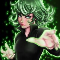 Terrible Tornado Tatsumaki by gscratcher