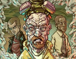 Breaking Bad - Money Green variant by iamwheatking