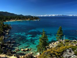 Sand Harbor Morning4 by MartinGollery