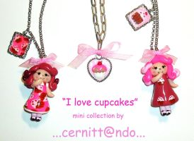 fimo cupcakes collection by cernittando