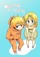 Kenny and Butters 08 by sakurapanda