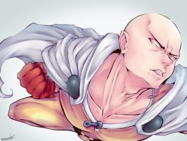 ONE PUNCH MAN | Speed Painting by gorroazul